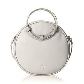 Co The Lovely Tote Women's Ring Handle Cross Body Circle Bag Round Purse
