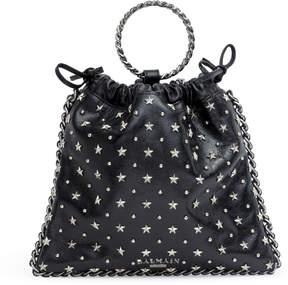Balmain Blink black studded backpack