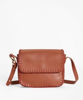 Brooks Brothers Leather Shoulder Bag