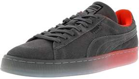 Puma Men's Classic Fade Future Steel Gray Ankle-High Suede Fashion Sneaker - 10.5M