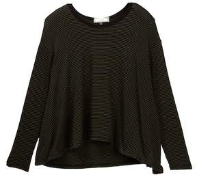 Soprano Long Sleeve Stripe Top (Big Girls)