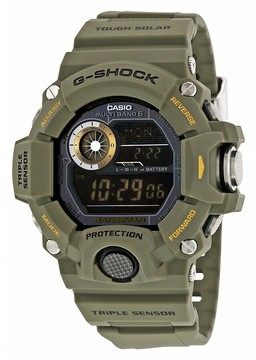 Casio G-Shock Digital Dial Green Resin Men's Watch