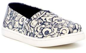 Toms Alpargata Floral Camo Slip-On (Little Kid & Big Kid)