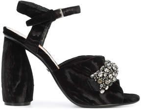 Carven gem embellished heeled sandals