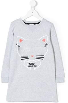 Karl Lagerfeld Choupette sweat dress