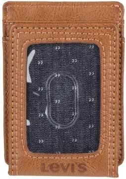 Levi's Levis Men's RFID-Blocking Magnetic Front-Pocket Wallet