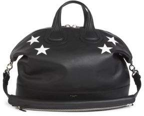 Givenchy Nightingale Calf Leather Satchel