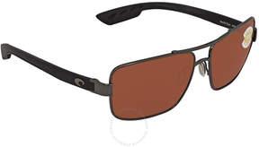 Costa del Mar North Turn Rectangular Sunglasses NTN 22 OCP
