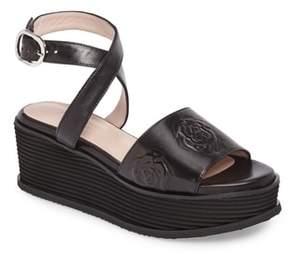 Taryn Rose Paola Platform Sandal