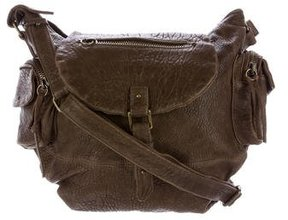 Iro Grained Leather Crossbody Bag