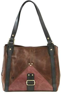 Børn Distressed Leather Tote