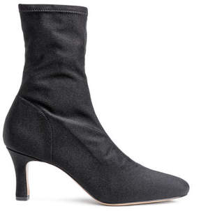 H&M Soft ankle boots - Black
