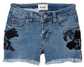 Hudson Black Iris Shorts (Big Girls)