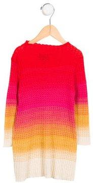 Missoni Girls' Knit Long Sleeve Dress