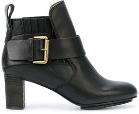 See by Chloe side buckle ankle boots