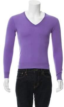Ralph Lauren Purple Label Cashmere V-Neck Sweater