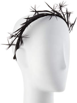 Neiman Marcus Gigi Burris Lyra Feather Headband