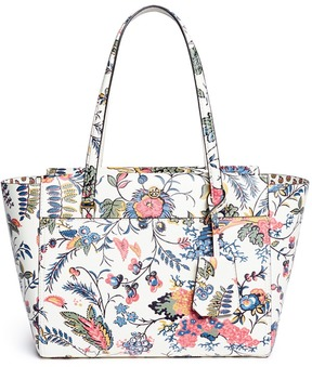 Tory Burch 'Parker' small Gabriella Floral print leather tote - ONE COLOR - STYLE