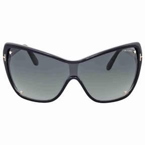 Tom Ford FT0363 Ekaterina Rectangular Sunglasses, 60mm