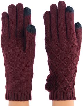 Shiraleah Wine Prudence Gloves