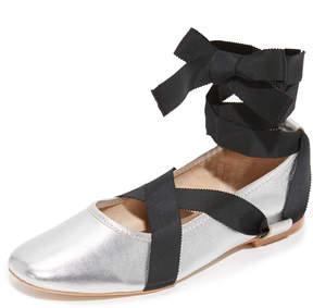 Loeffler Randall Wrap Ballet Flats