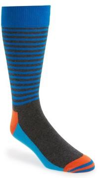 Happy Socks Men's Half Stripe Socks