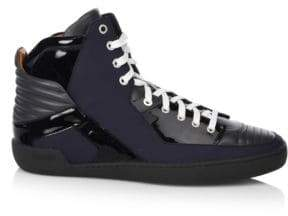 Bally High-Top Leather Sneakers