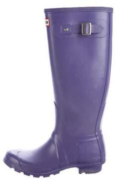Hunter Round-Toe Rubber Rain Boots