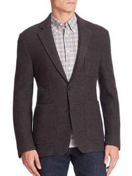 Billy Reid Single-Breasted Wool Blazer