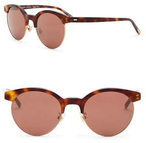 Oliver Peoples Ezella 51mm Clubmaster Sunglasses