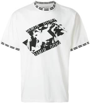 Damir Doma x Lotto printed crew neck T-shirt
