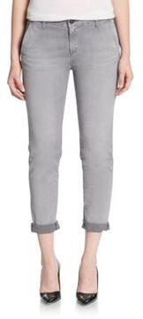 AG Adriano Goldschmied Rolled Cuff Jeans