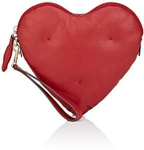 Anya Hindmarch Women's Chubby Heart Leather Clutch