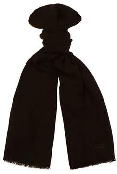 Moschino Mopsm0001/25 Black Solid Scarf.