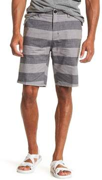 Micros Stripe Slub Walk Shorts