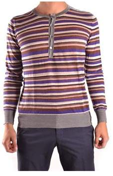 Mauro Grifoni Men's Multicolor Cotton Sweater.