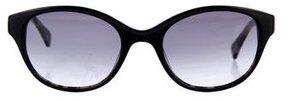 Diane von Furstenberg Gradient Cat-Eye Sunglasses