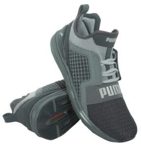 Puma Mens Ignite Limitless Running Shoes - Periscope-Gray Violet Size 11
