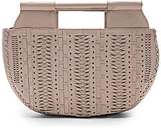 Cleobella Evelina Small Tote in Light Gray.