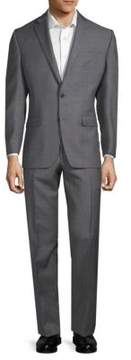 Lauren Ralph Lauren Windowpane Slim-Fit Suit
