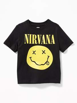 Old Navy Nirvana Graphic Tee for Toddler Boys