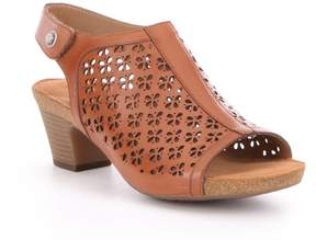 Josef Seibel Ruth 33 Laser-Cut Leather Sandals