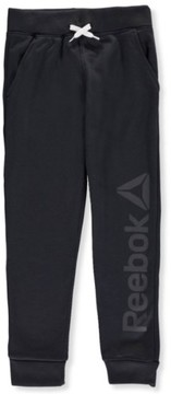Reebok Big Boys' Fleece Joggers (Sizes 8 - 20) - slate gray, 18-20