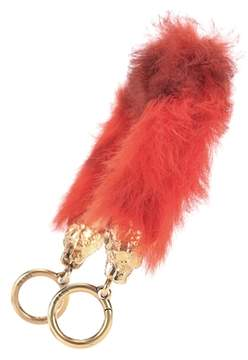 Prada Fur bag strap
