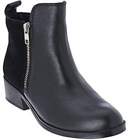 Cougar As Is Leather & Suede Waterproof Ankle Boots - Connect