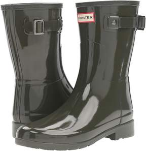 Hunter Refined Short Gloss Women's Rain Boots