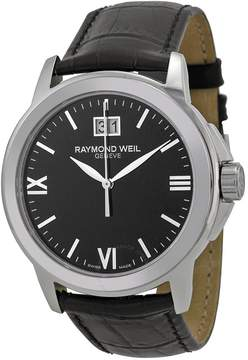 Raymond Weil Tradition Black Dial Men's Watch