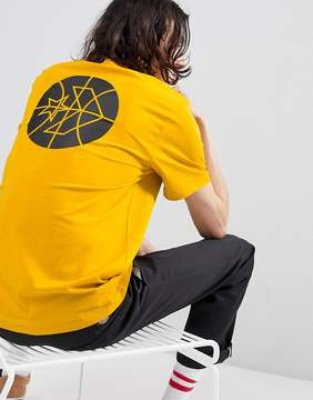 Converse Cons Court Tee In Yellow 10005691-A03