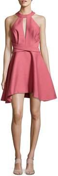 C/Meo Women's Asymmetric Halter Dress