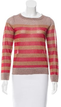 Emma Cook Metallic Knit Top